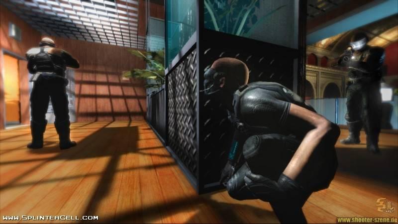 Splinter Cell Double Agent Multiplayer Info & Screenshots.