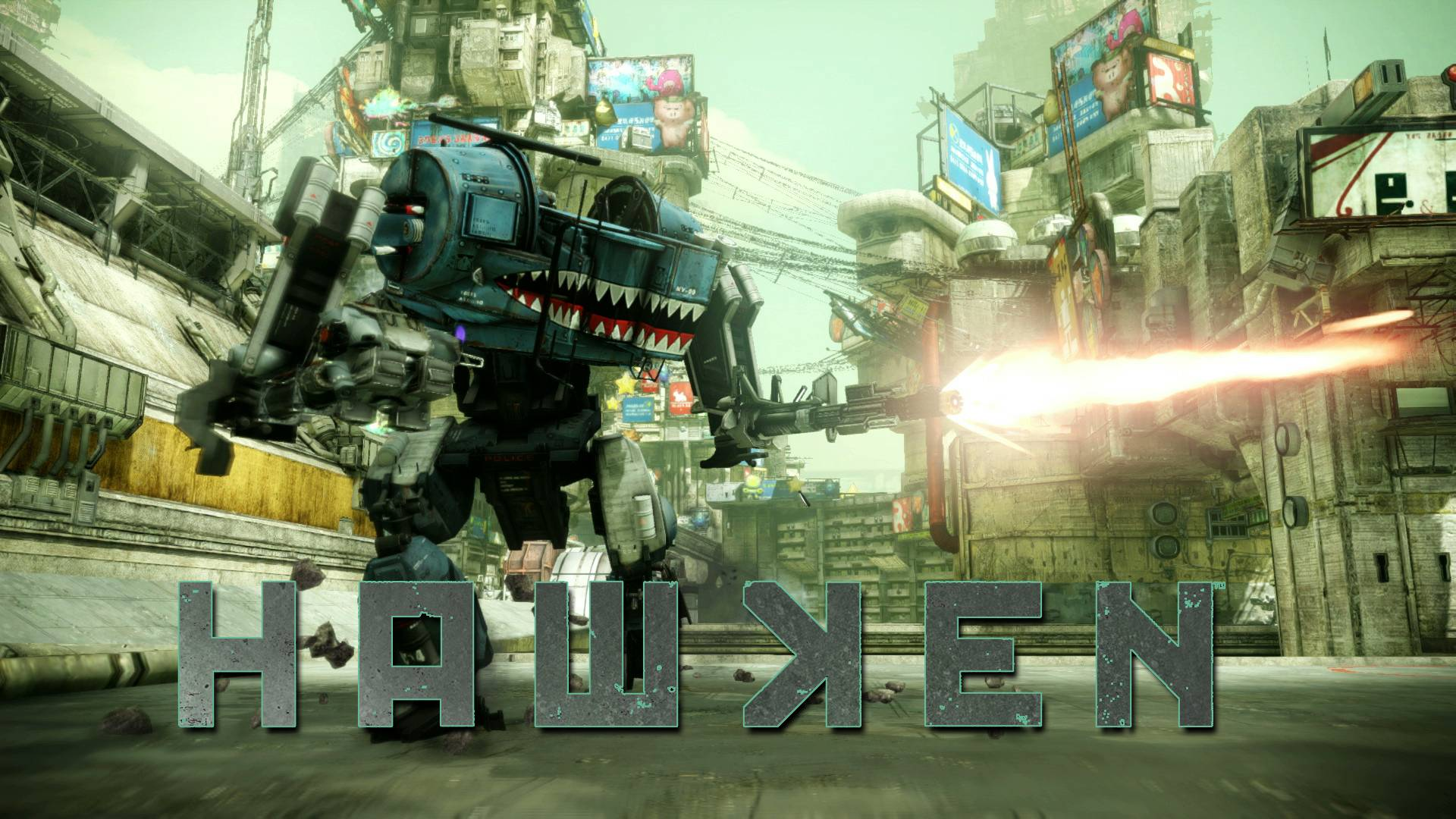 Mech-Shooter Hawken hat ein neues Zuause