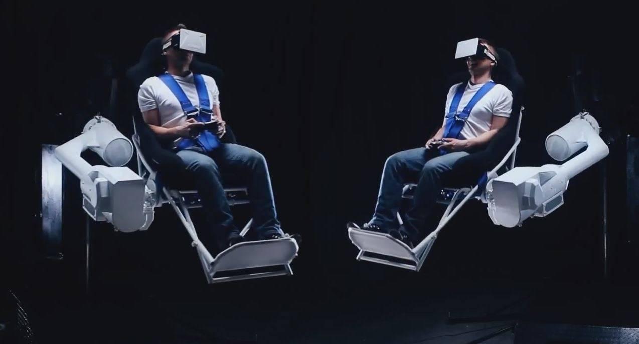 Der Vr Gaming Chair Wenn Vr Brillen Nicht Gen 252 Gen