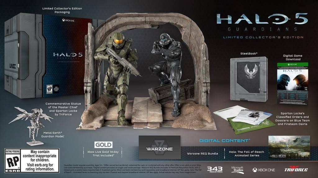 Halo 5 Collector S Edition