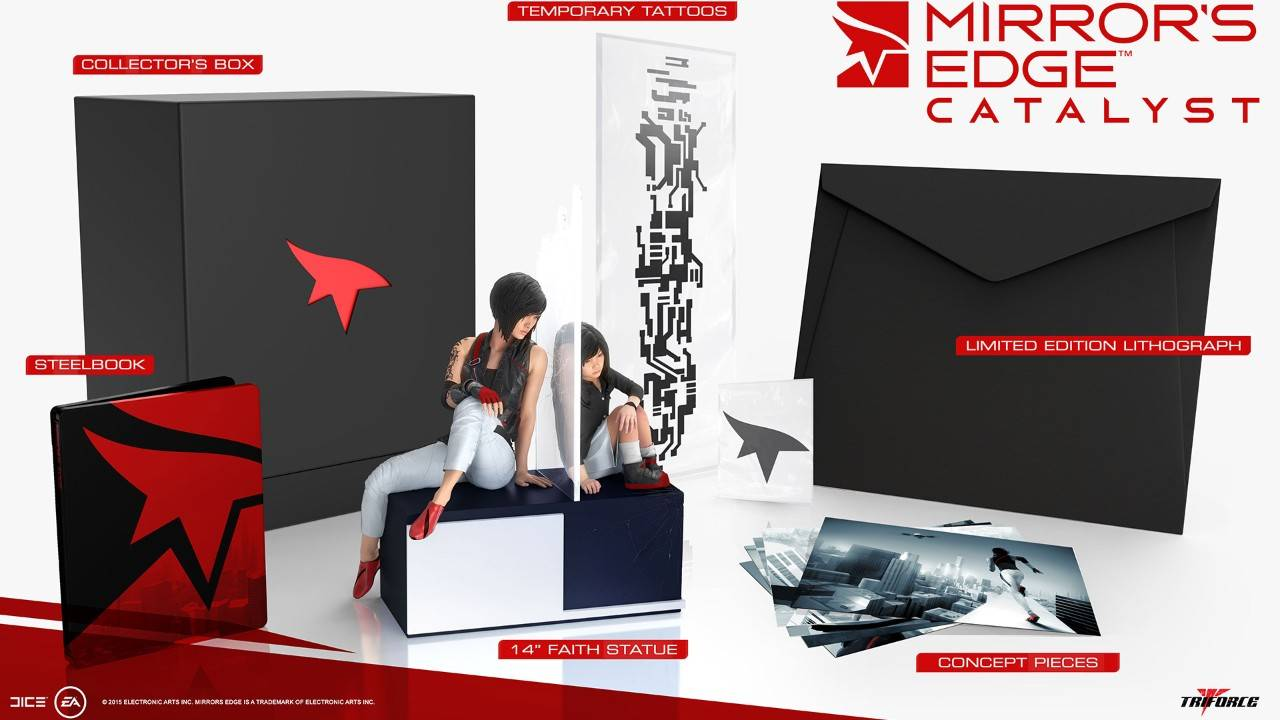 Mirrors Edge Catalyst Collectors Edition