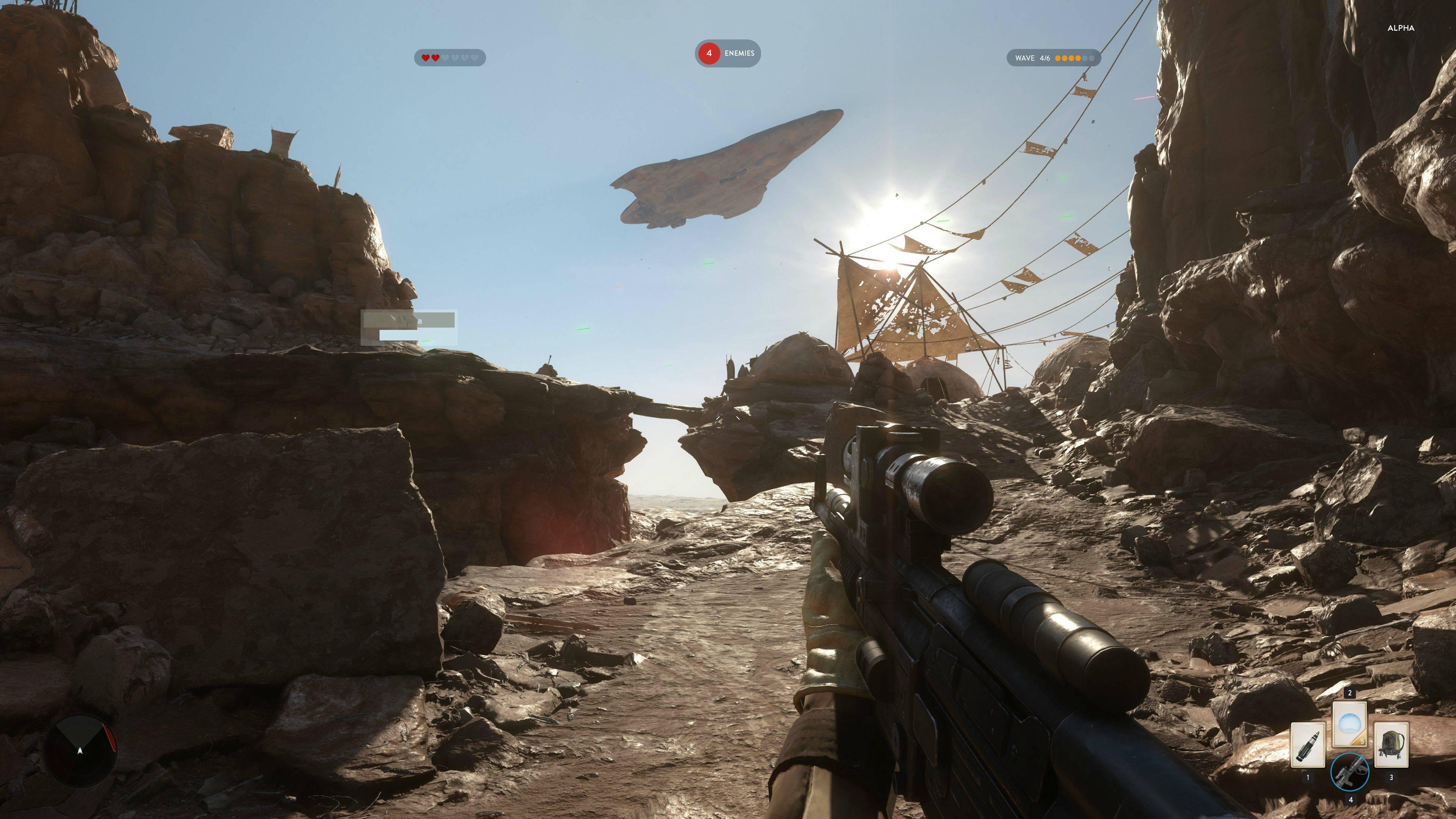 4k screenshots aus der star wars battlefront closed alpha erschienen