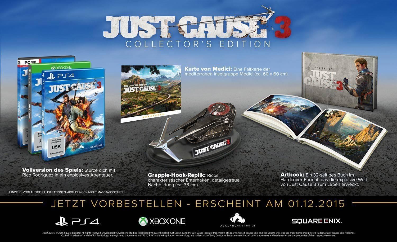 Alle Just Cause 3-Editionen im Überblick