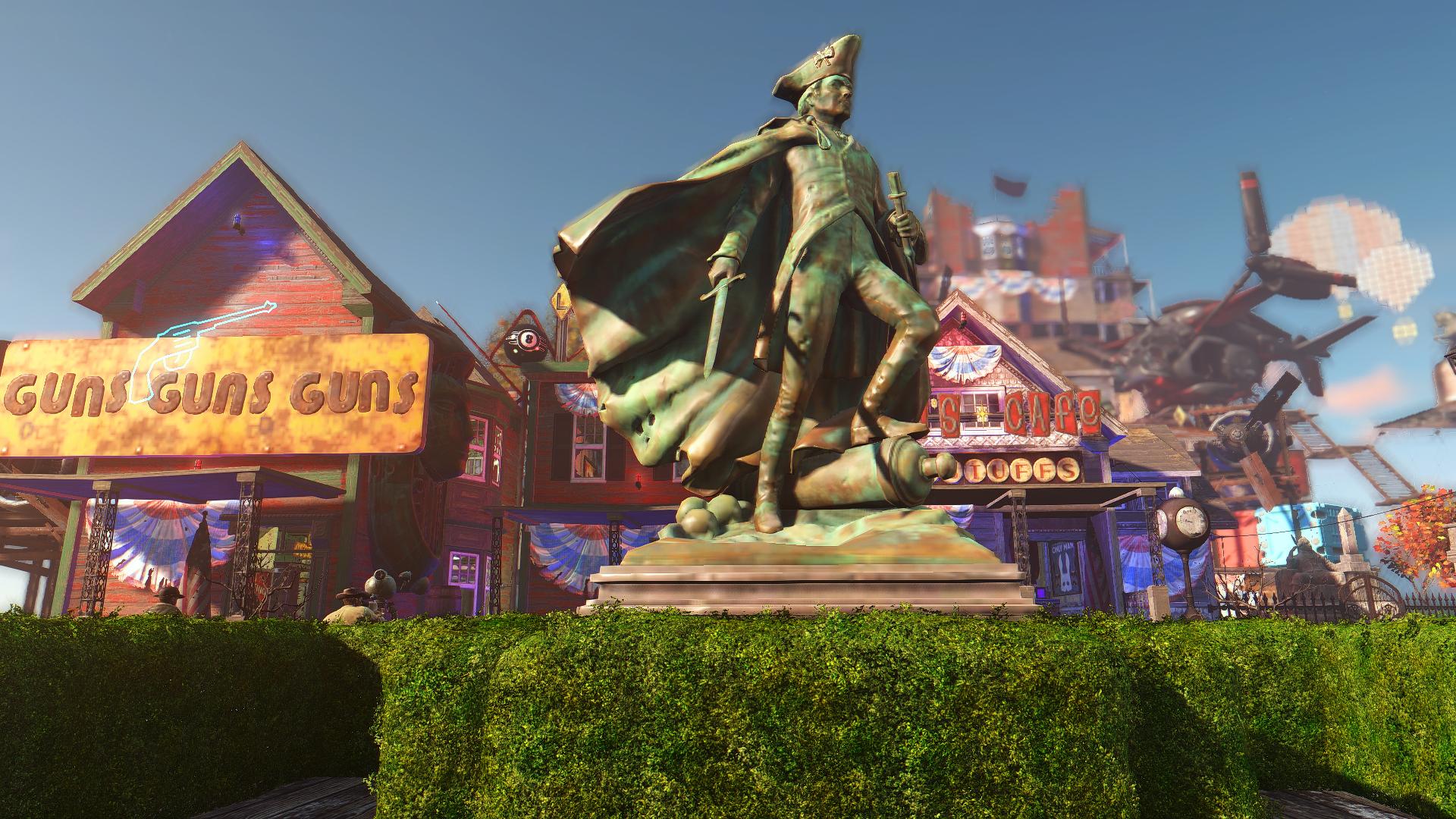 Fallout 4 BioShock Infinite Mod 4
