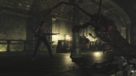 Resident Evil Zero HD Remastered Boss