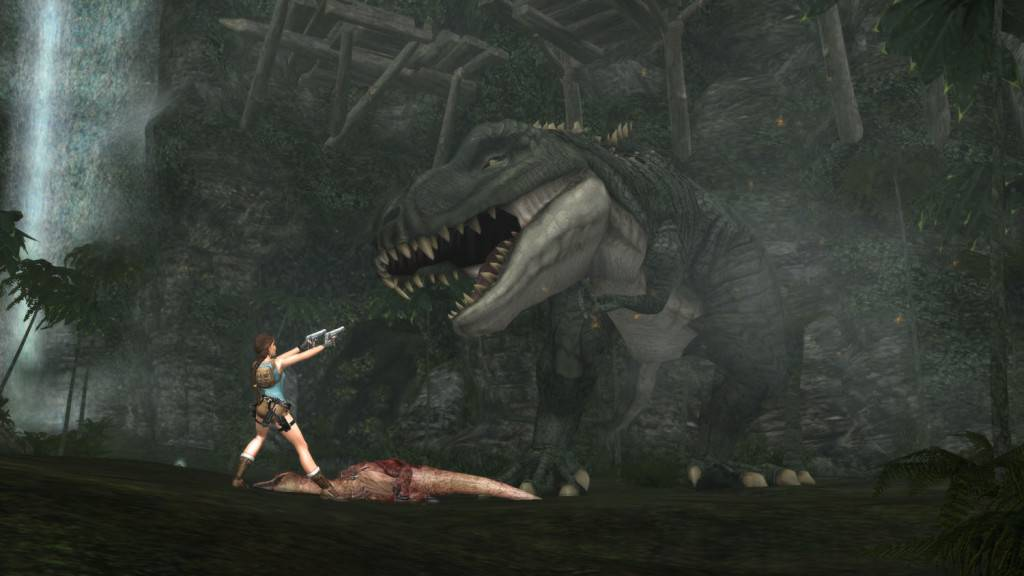 Tomb Raider Anniversary T-Rex