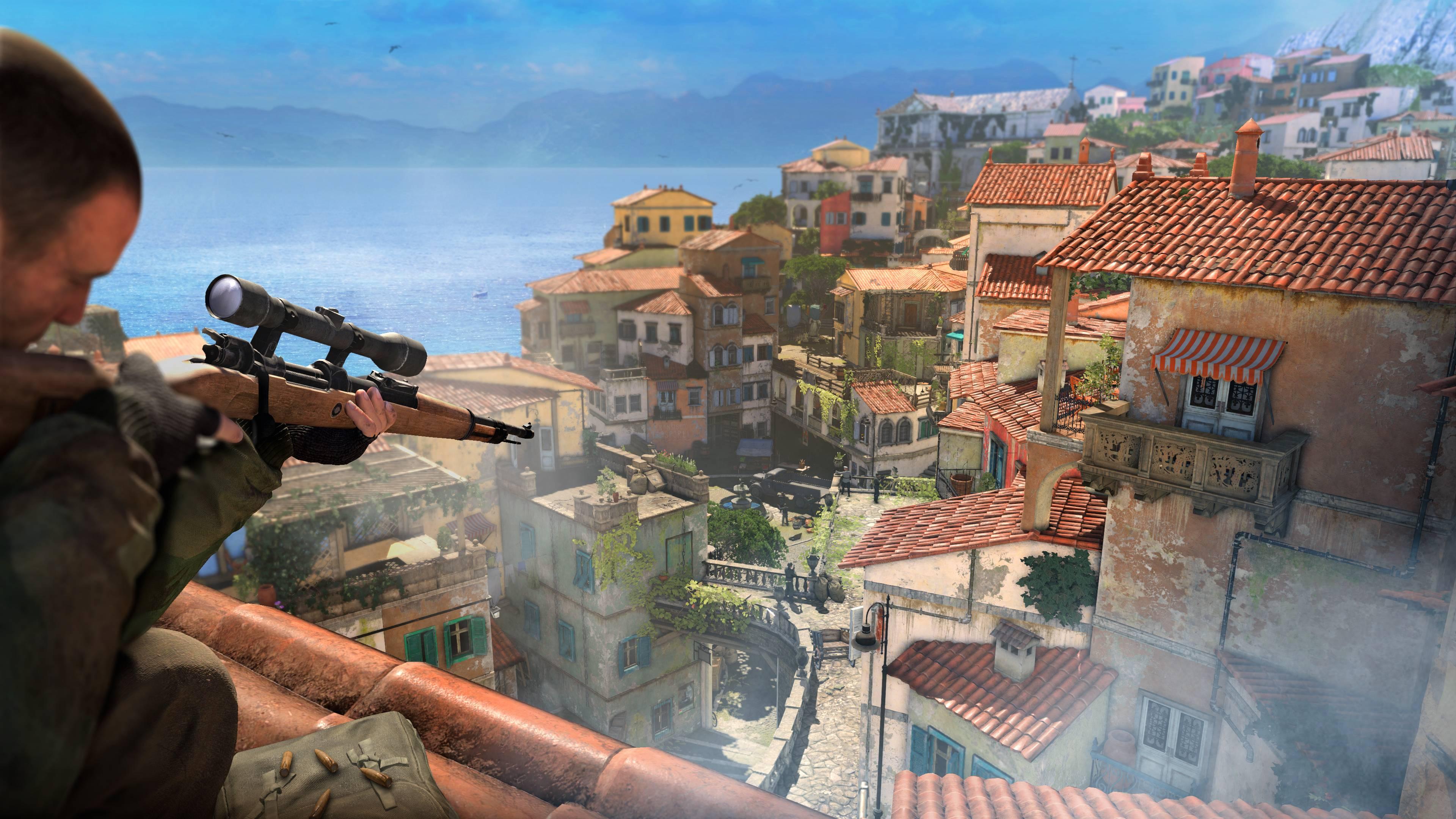 Sniper Elite 4 - Marina