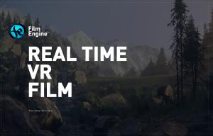 Crytek kündigt eigene FilmEngine an
