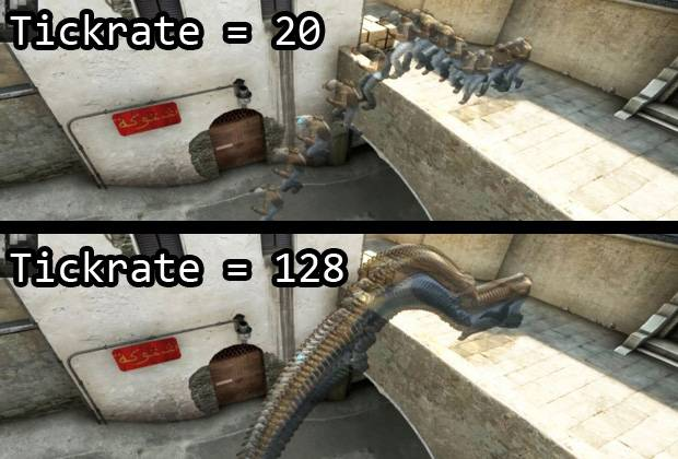 how to start cs go with 128 tick