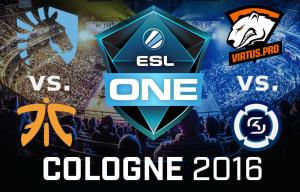 ESL One Köln 2016 – Halbfinale