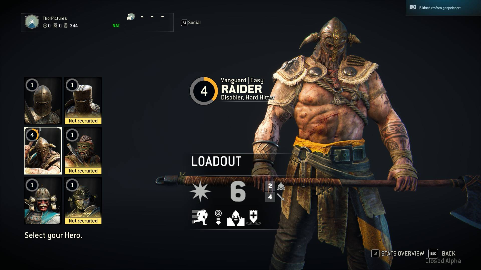 For Honor Alpha
