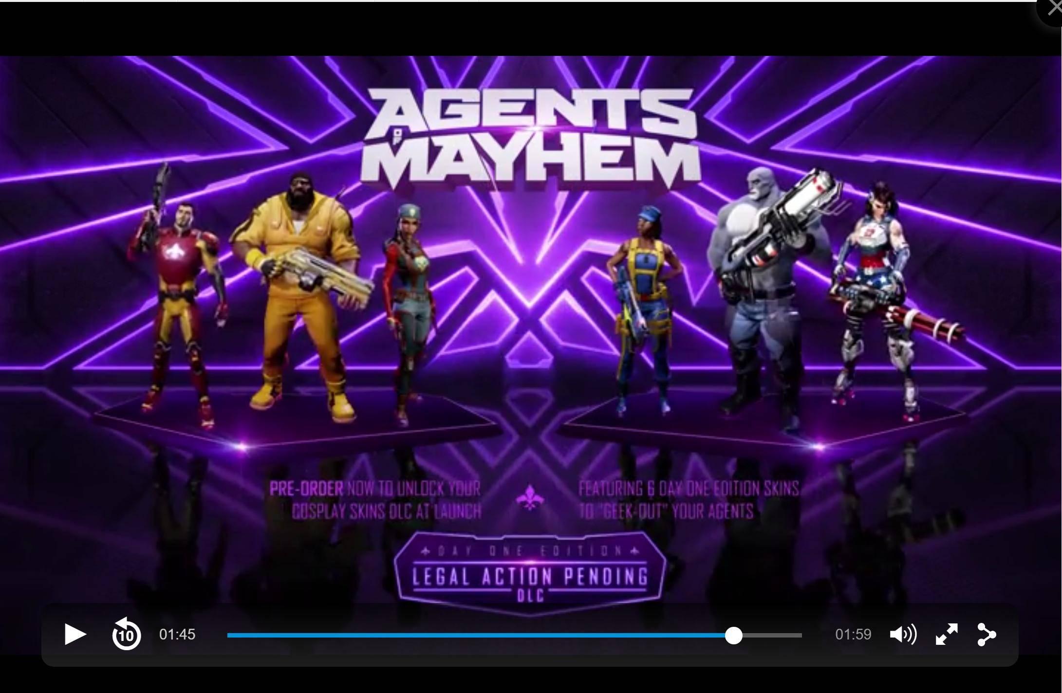 Agents of Mayhem: Update: Konkreter Termin offiziell bestätigt