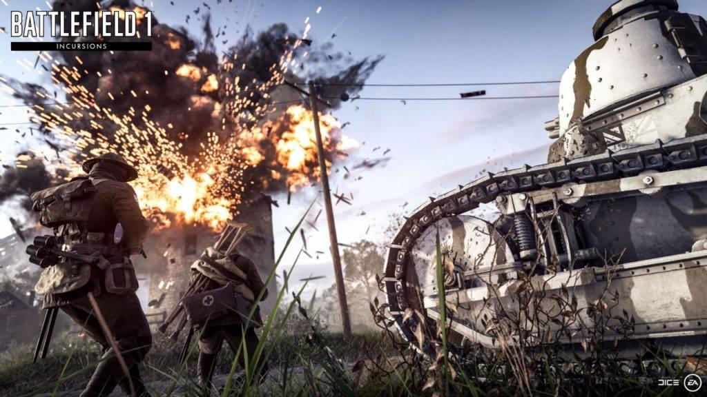 Battlefield 1: Kompetitiver Spielmodus Incursions vorgestellt!