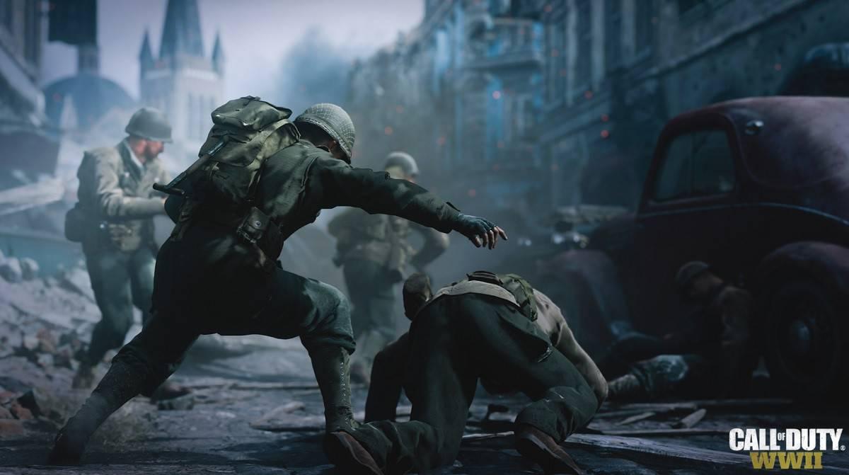 Viele aktive PC-Spieler in Call of Duty: WWII