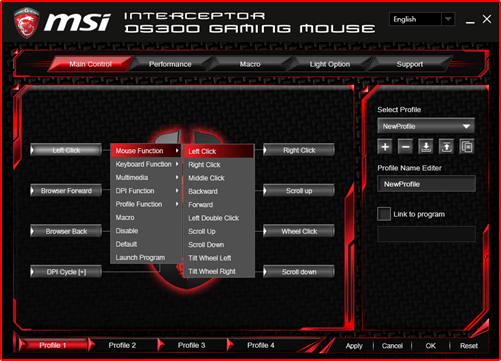 driver msi download mouse