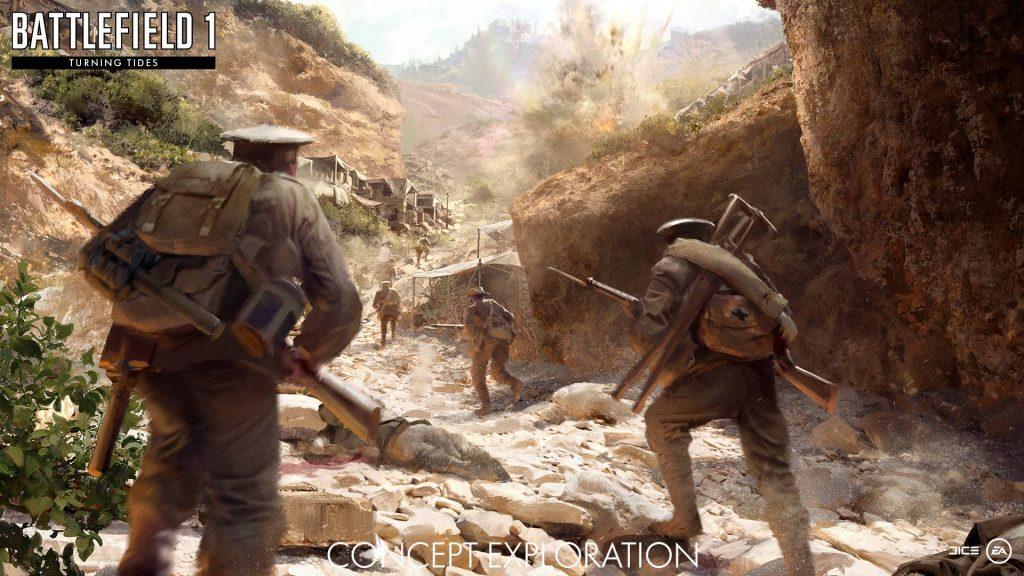 Battlefield 1: Neue Waffen aus Turning Tides vorgestellt!