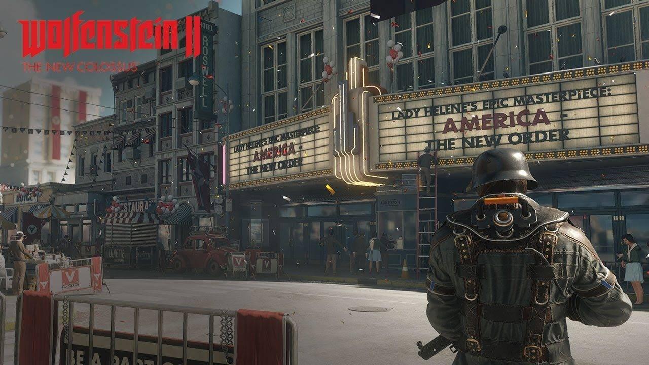 Wolfenstein 2 The New Colossus – Kampagne mit politischen Aussagen