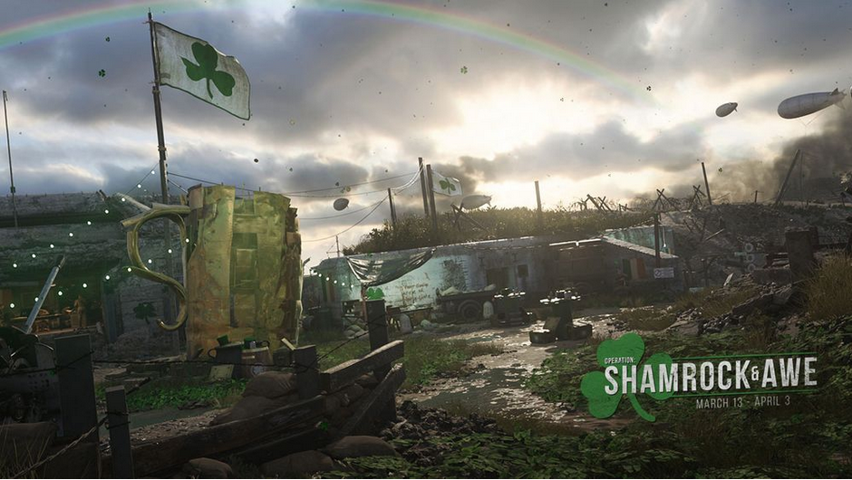 Call of Duty: WW2 St. Patricks Day Event startet bald