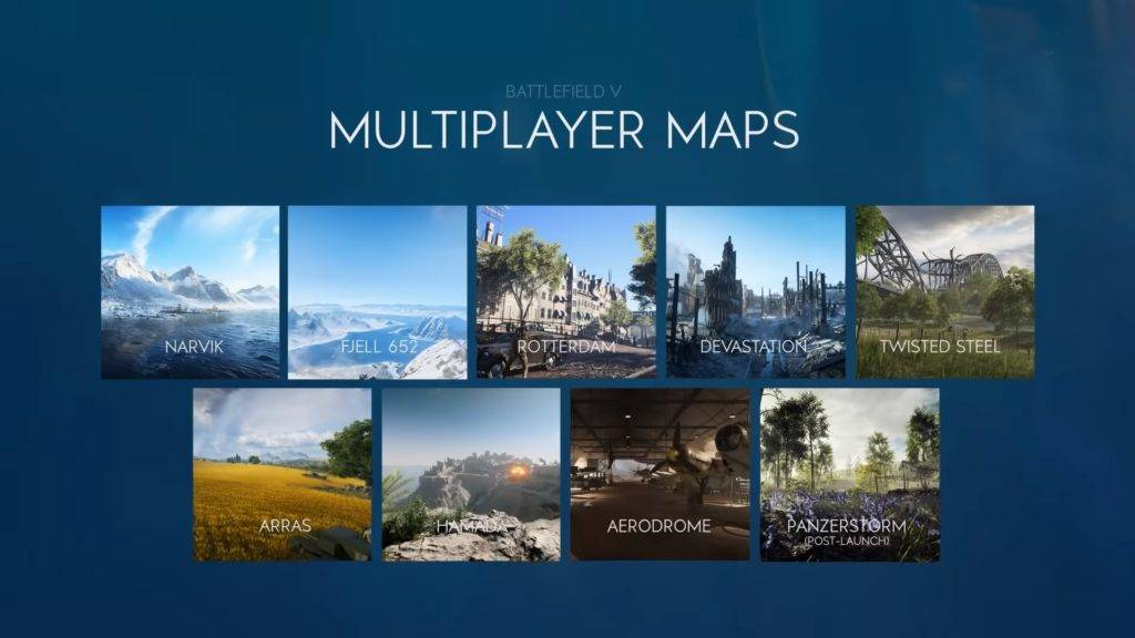 Battlefield 5 - Launch Map Übersicht