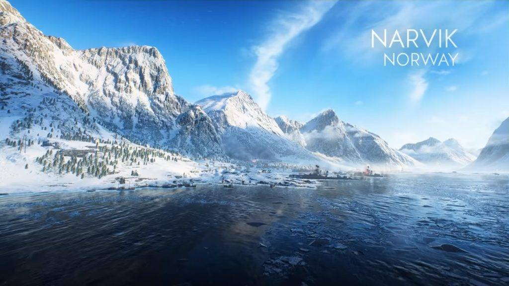 Battlefield 5 - Karte Narvik