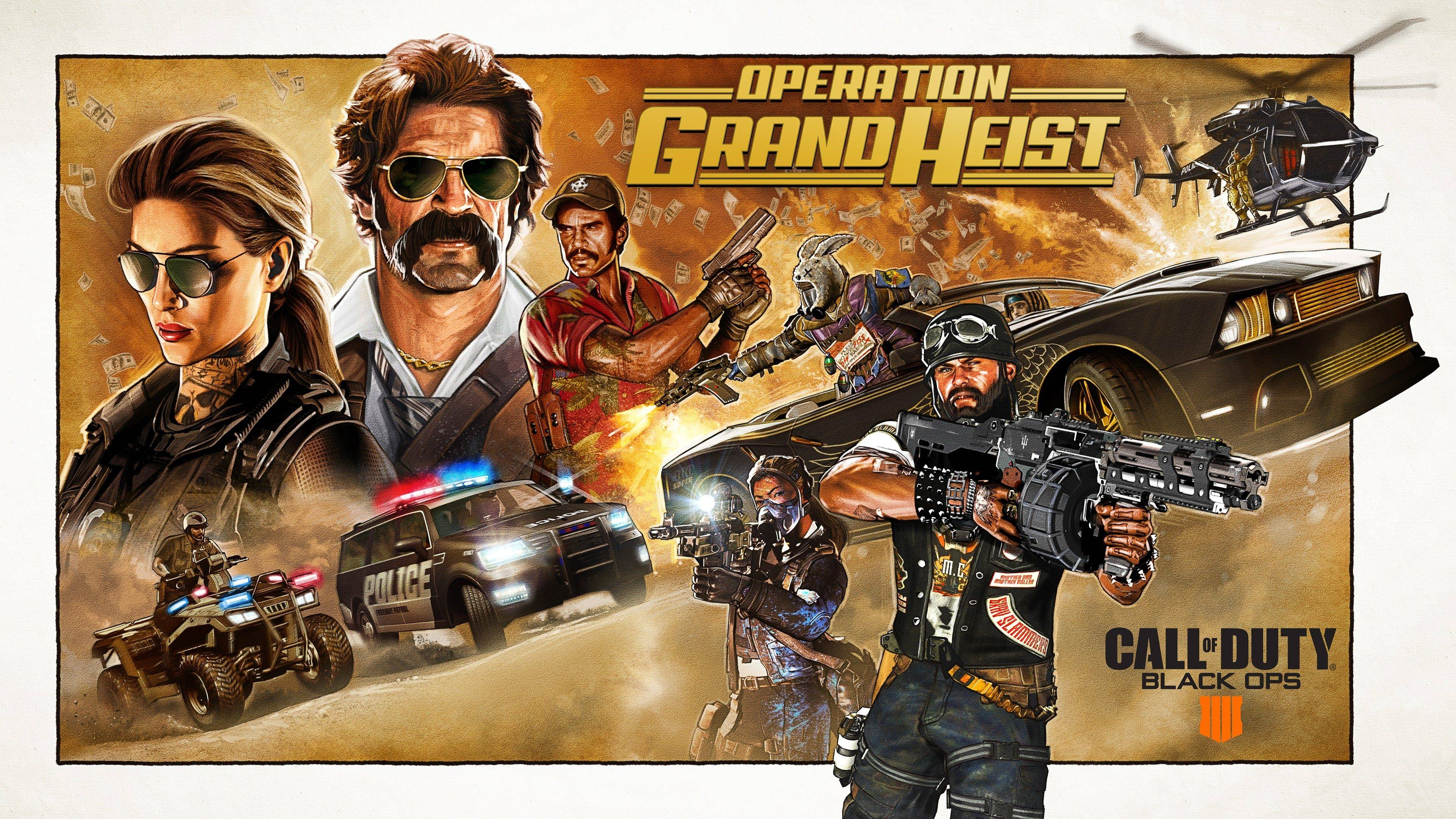 Black Ops 4 präsentiert Operation Grand Heist