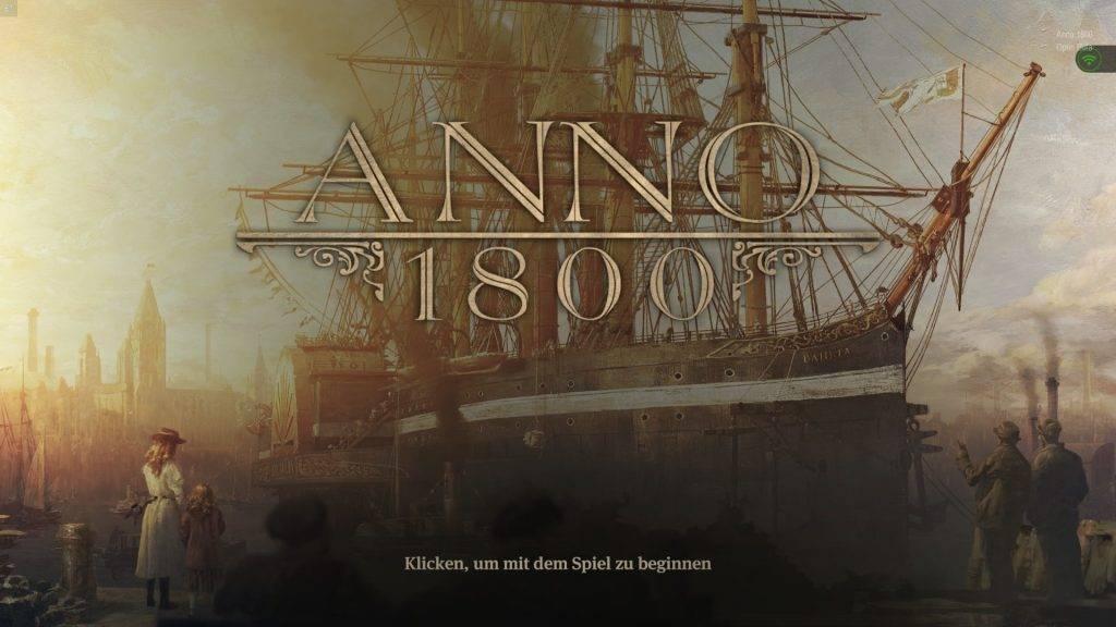 Anno 1800: Open Beta gestartet & Eindruck