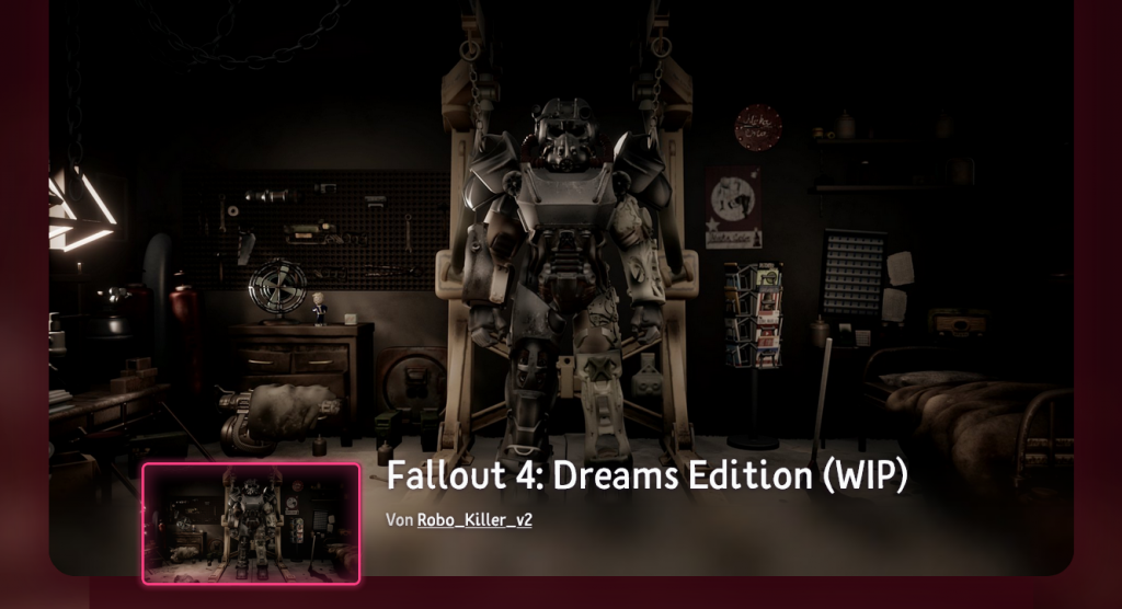 Fallout 4 - Dreams Edition (Work in Progress)